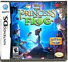 NEW Nintendo DS Disney THE PRINCESS AND THE FROG (2009) in English or Spanish!