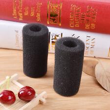 2XAquarium Fish Tank Black Cotton Filter Foam Sponge Pond Protector Practical XL