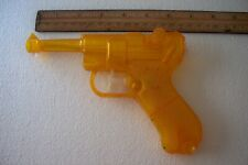 Vintage Yellow Plastic Water Squirt Gun Luger Park Plastics Linden NJ