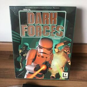 Vintage Star Wars Dark Forces PC Game 1994 Big Box - Complete - Free Shipping
