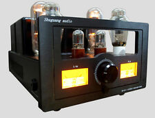 110V Shuguang Sg-300B-98 Sg-845B 6SN7GT Vacuum Tube Integrated Amplifier Class A