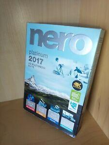 Nero 2017 Platinum 4K Ultra HD Multimedia Suite for Windows