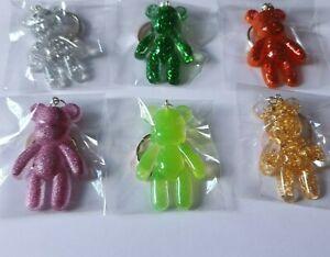 Handmade Teddy Bear Keyring