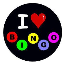 I LOVE BINGO - FUN NOVELTY FRIDGE MAGNET - BRAND NEW - GIFT - XMAS