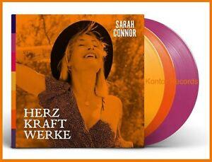"""Sarah Connor """"herz kraft werke"""" limited special deluxe Vinyl 3LP Album NEU 2021"""
