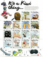New Zealand NZ 2016 MNH Its a Kiwi Thing 14v M/S Stamps + Colouring Bk + Pencils