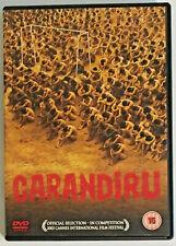 Carandiru (DVD, 2004) Brazilian Drama Film, Spanish Portugese Audio English Subs