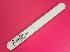 Pro impresiones PROFESIONAL Limas Para Uñas Acrílico Gel 240/240 grano forma recta