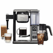 Ninja Coffee Bar Glass Carafe System Hot Iced Blended Coffeehouse Style