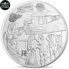 [#482214] France, Monnaie de Paris, 10 Euro, Guerre Moderne, 2017, FDC, Argent