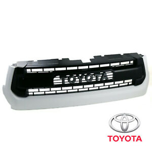 New OEM White Grille Assembly TRD PRO for Tundra 2014-2017 - 040 Color Code