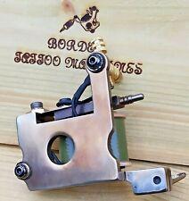 """CUT-BACK LINER"" BORDER TATTOO MACHINE,CUSTOM IRON FRAME 8 LAYER 32mm coils"