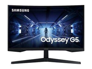 SAMSUNG Odyssey G5 C34G55T 34-inch Curved Gaming Monitor 165Hz WQHD 3440 x 1440