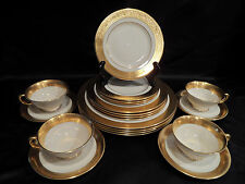LENOX CHINA ~WESTCHESTER PATTERN~ SERVICE FOR 4 ~ TOTAL 20 PCS