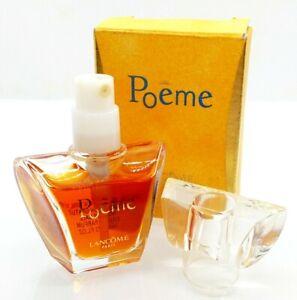 Mini Eau Parfum Spray ✿ POEME ~ LANCOME ✿ Miniature Perfume 7ml. ~ 0.23fl.oz.