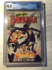 Brave and The Bold #36 cgc 4.5 Hawkman Grey Tone Cover
