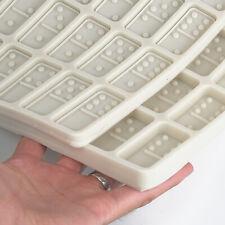 Molde de Domino de resina Tamaño Estándar 2x1 Pulgadas, Juego De Domino Molde 1PC, listo para enviar