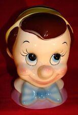 """Cuernavaca Pinocchio Bank 9"""" Walt Disney Productions - Very Good Condition 1960!"""