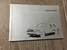 #13 MERCEDES C CLASS ESTATE W202 OWNERS MANUAL HANDBOOK HANDBOOK BOOK 1993-2000