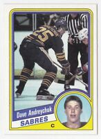 Dave Andreychuk Rookie RC 1984/ '85 Topps #13 - Buffalo Sabres