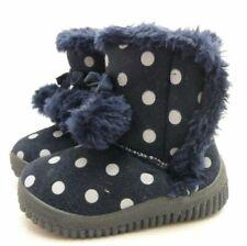 Soft Touch chaussures bébé botte fourrée bleu ou bleu marine fille 15 à 24 mois