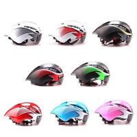 290g Triathlon Road Bike Helmet Bicycle Integrally-Molded Aerodynamic  Cycling