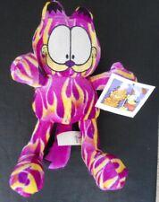 Purple & Yellow Garfield Plush Toy