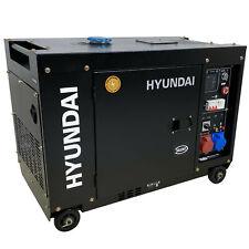Hyundai DT75D Diesel Stromgenerator 7900W 400V mit Fernbedienung Stromerzeuger