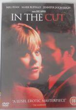 'IN THE CUT' DVD STARRING MEG RYAN,MARK RUFFALO,JENNIFER JASON LEIGH CERT.18