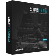 Cakewalk Sonar Platinum + Plugins + Content DAW Audio Editing Studio Music Sound