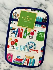 Kate Spade New York All in Good Taste Cookbook One Pot Holder Brand New in Pack