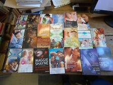 lot de 23 livres de la collection harlequin