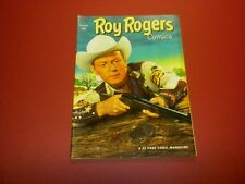 ROY ROGERS COMICS #58 Dell 1952 tv/movie western