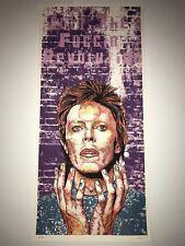 David Bowie Starman Silkscreen Art Print Poster Fugscreens Join the Revolution