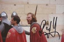 MERLIN: RUPERT YOUNG 'SIR LEON' SIGNED 6x4 ACTION PHOTO+COA **PROOF**