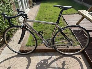 Enigma Effusion 49cm Titanium Bike With Electron Carbon Forks