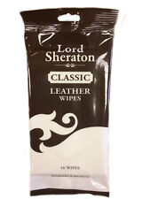 Lord Sheraton Classic Nourishing and Protecting Leather Wipes - 16 Wipes