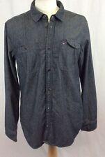 Tommy Hilfiger Regular Long Sleeve No Pattern Men's Casual Shirts & Tops