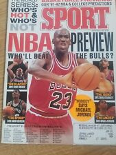 "SPORT  MAGAZINE             NOV. 1991       ""NBA  PREVIEW  /  JORDAN"""