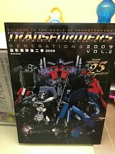 TRANSFORMERS GENERATION 2009 VOL 2 CATALOGO CATALOGUE BANDAI TAKARA POPY HASBRO