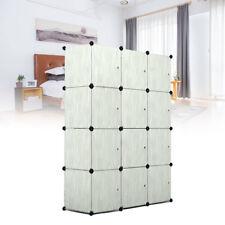 Kleiderschrank DIY Schrank Regalsystem Steckregal Garderobe Schuhregal 12-Cube