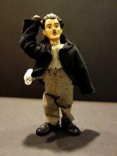 All Original CHARLIE CHAPLIN Mechanical Tin Toy With Lead Head 1925 Germany