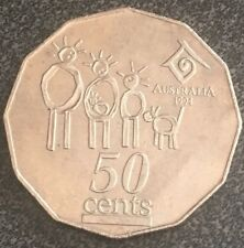 ☄️Australia 1994 50c COIN Collectable Fifty Cent Rare - Special Edition ⭐️