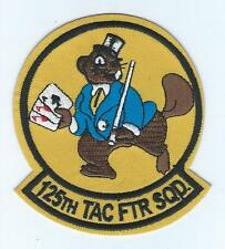 125th FIGHTER SQUADRON (HERITAGE TFS)!!NEW!! patch