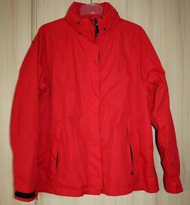Damen Jacke Maier Sports Gr 44 rot wasserabweisend atmungsaktiv neuwertig