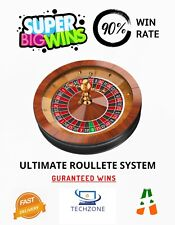Big Wins Roullete System - 90% Success Rate , Big Win Small Loss Simple Strategy