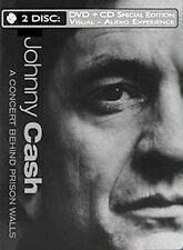 DVD: Johnny Cash - A Concert Behind Prison Walls (with Audio CD), . New Cond.: L