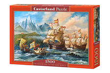 Castorland Puzzle 1500 Teile An Adventure to the New World (C-151349) Schiffe