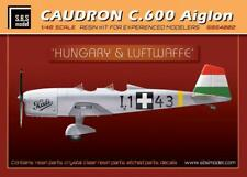 S.B.S Models, 1:48, 4002, Caudron C.600 Aiglon 'Hungary&Luftwaffe' full kit