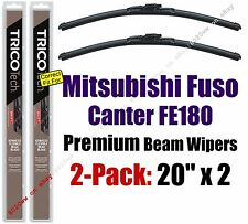 Wipers 2-Pack Premium - fit 2012-2014 Mitsubishi Fuso Canter FE180 - 19200x2